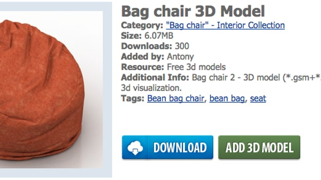 Astonishing Free Thousands Of 3D Objects For Use In Architectural Inzonedesignstudio Interior Chair Design Inzonedesignstudiocom