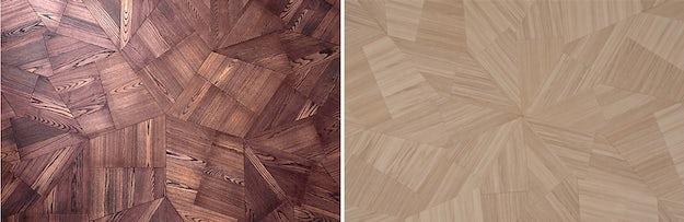 Architectural Details Zaha Hadid Architects Geometric Wood