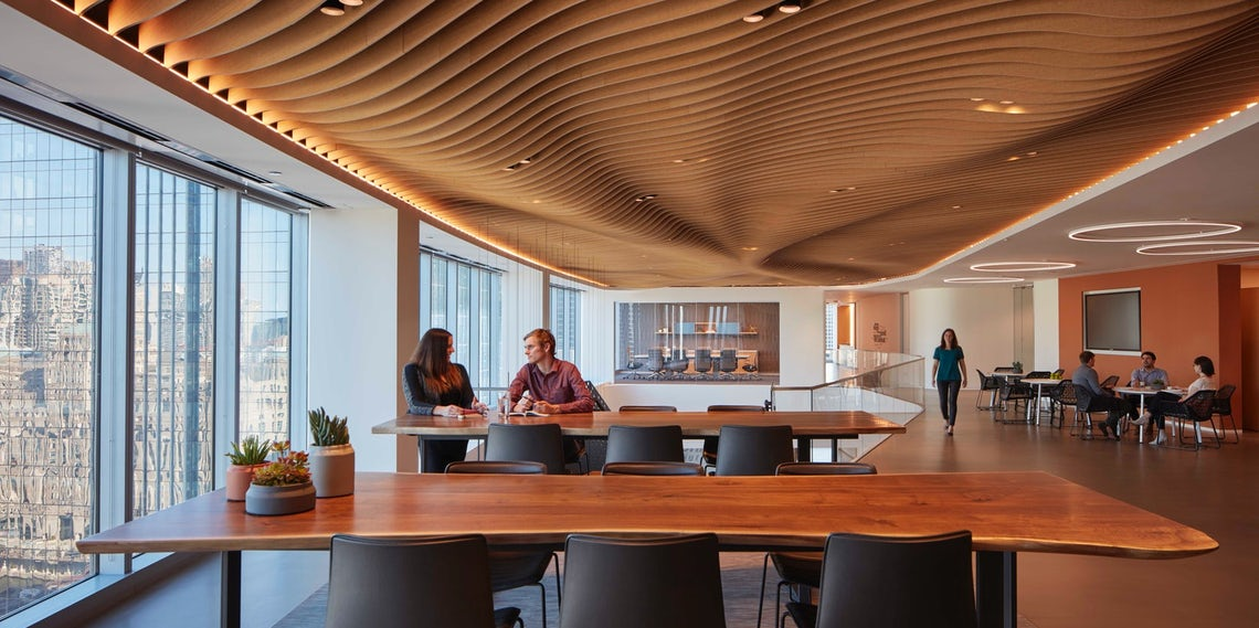 Quiet Please How To Design Acoustics For An Open Plan Office Architizer Journal