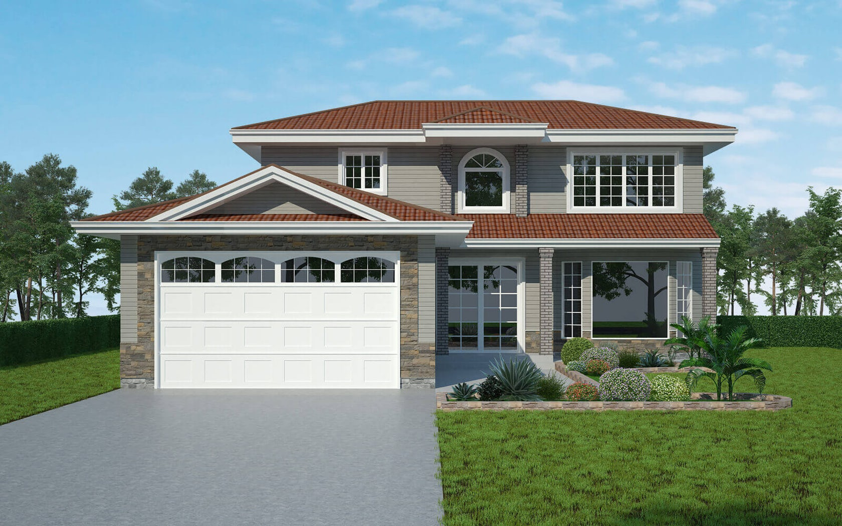 3d exterior home house design services architizer for Home design 3d gratis italiano