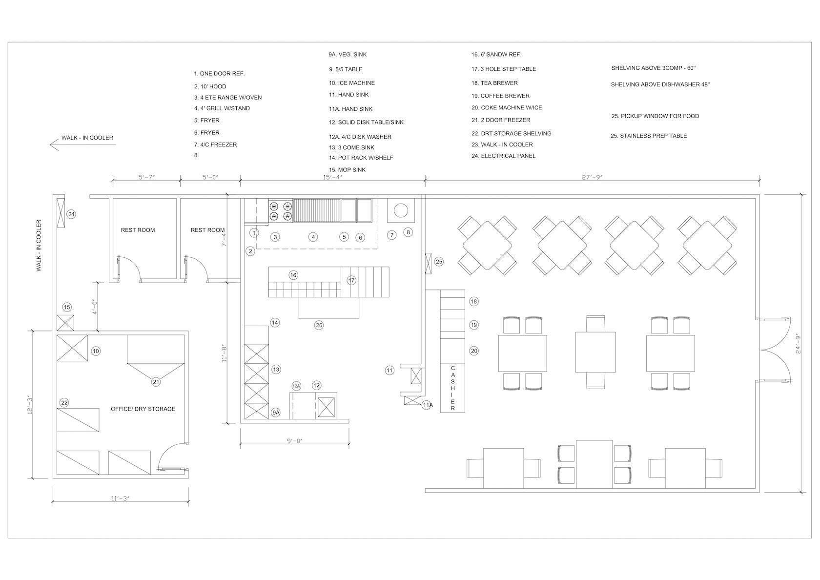 2D Floor Plan Design Services