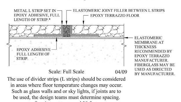 Inside Outside 10 Virtually Seamless Terrazzo Surfaces