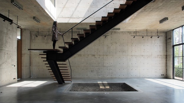How to Detail a Fantastic Floating Staircase - Architizer