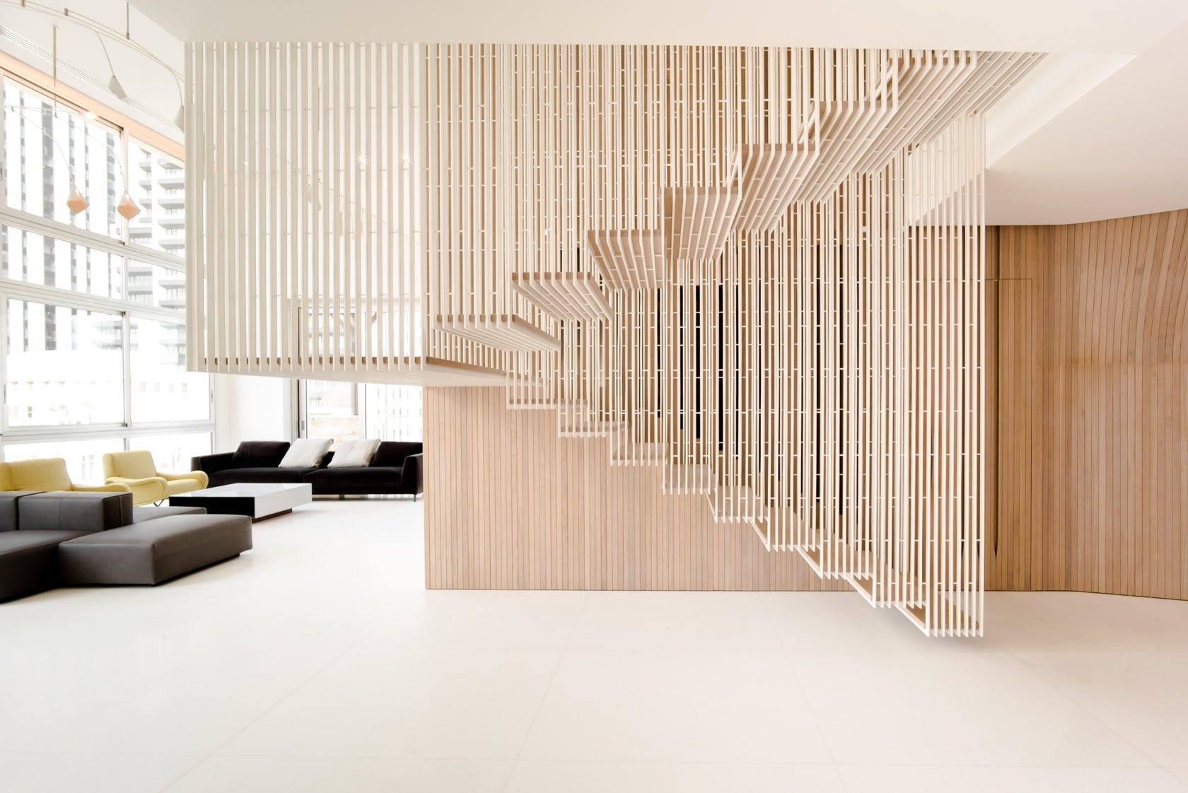 How to Detail a Fantastic Floating Staircase