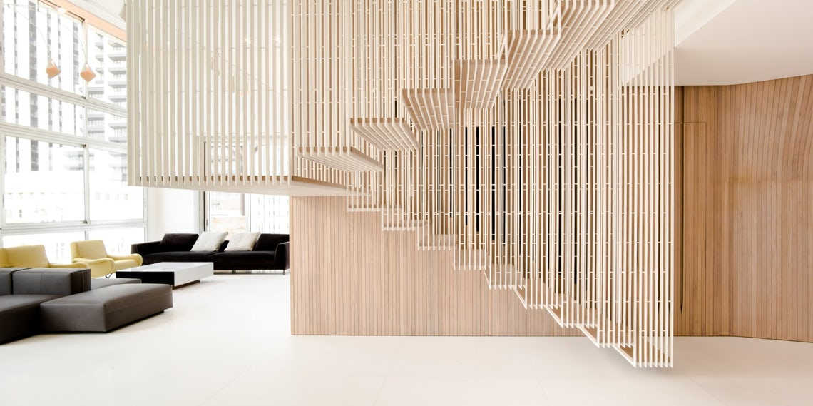 ​How to Detail a Fantastic Floating Staircase