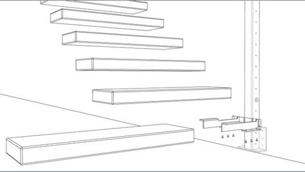 How to Detail a Fantastic Floating Staircase - Architizer Journal