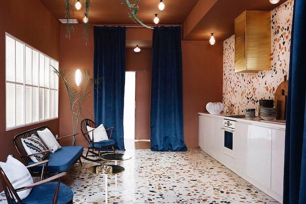 Commercial Work Space Designed By Cordero Atelier With Terrazzo Flooring Dzek Madrid Spain Photo Antartica Estudio