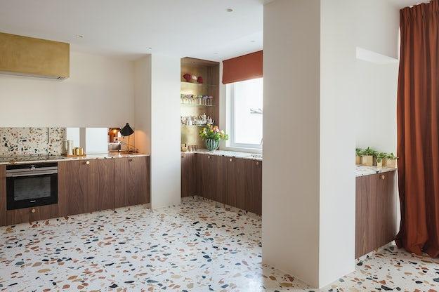How to specify terrazzo flooring architizer journal for Design terrazzo