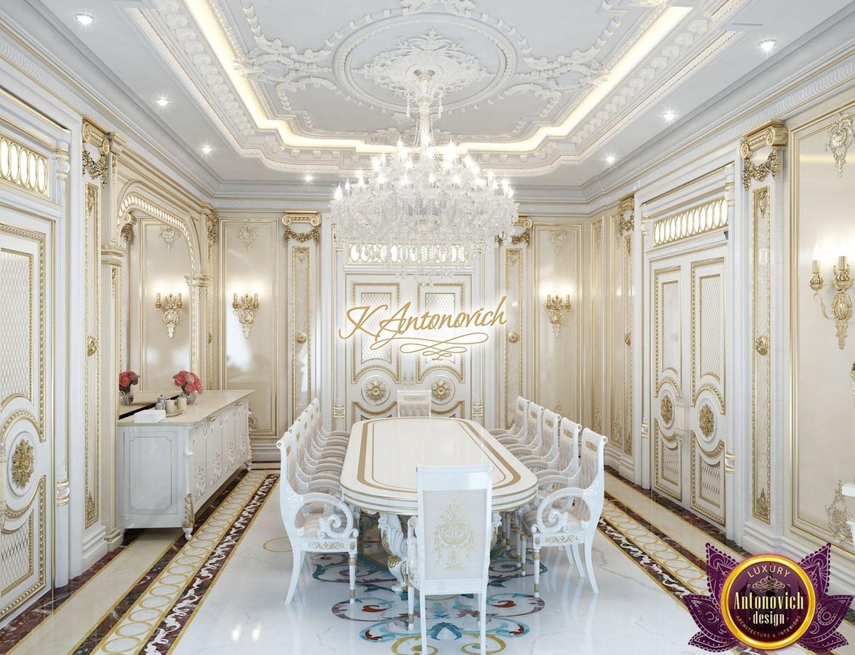 Kitchen Design Usa By Katrina Antonovich: Interior Design Projects In Dubai From Katrina Antonovich