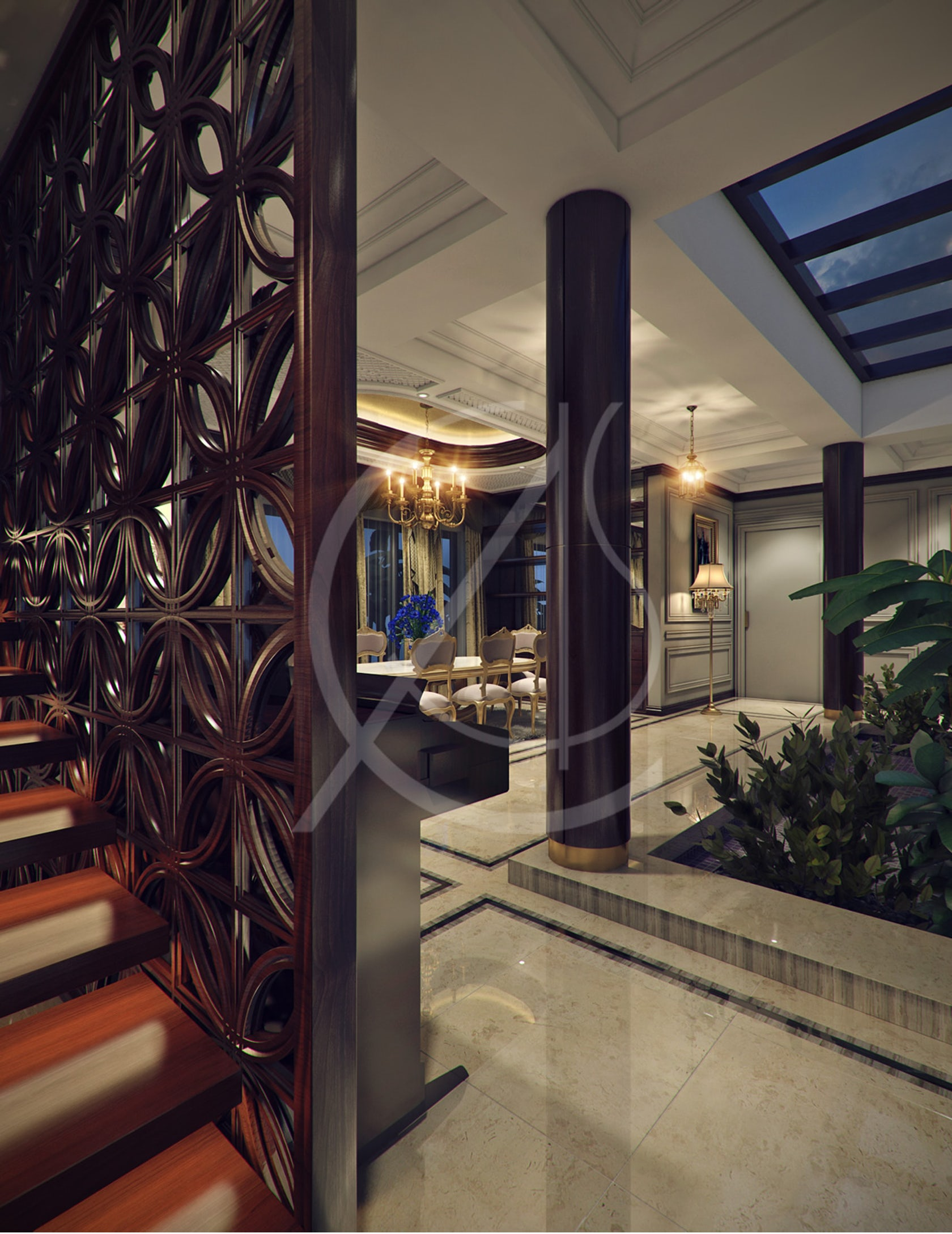 Luxury Kerala House Traditional Interior Design On Architizer