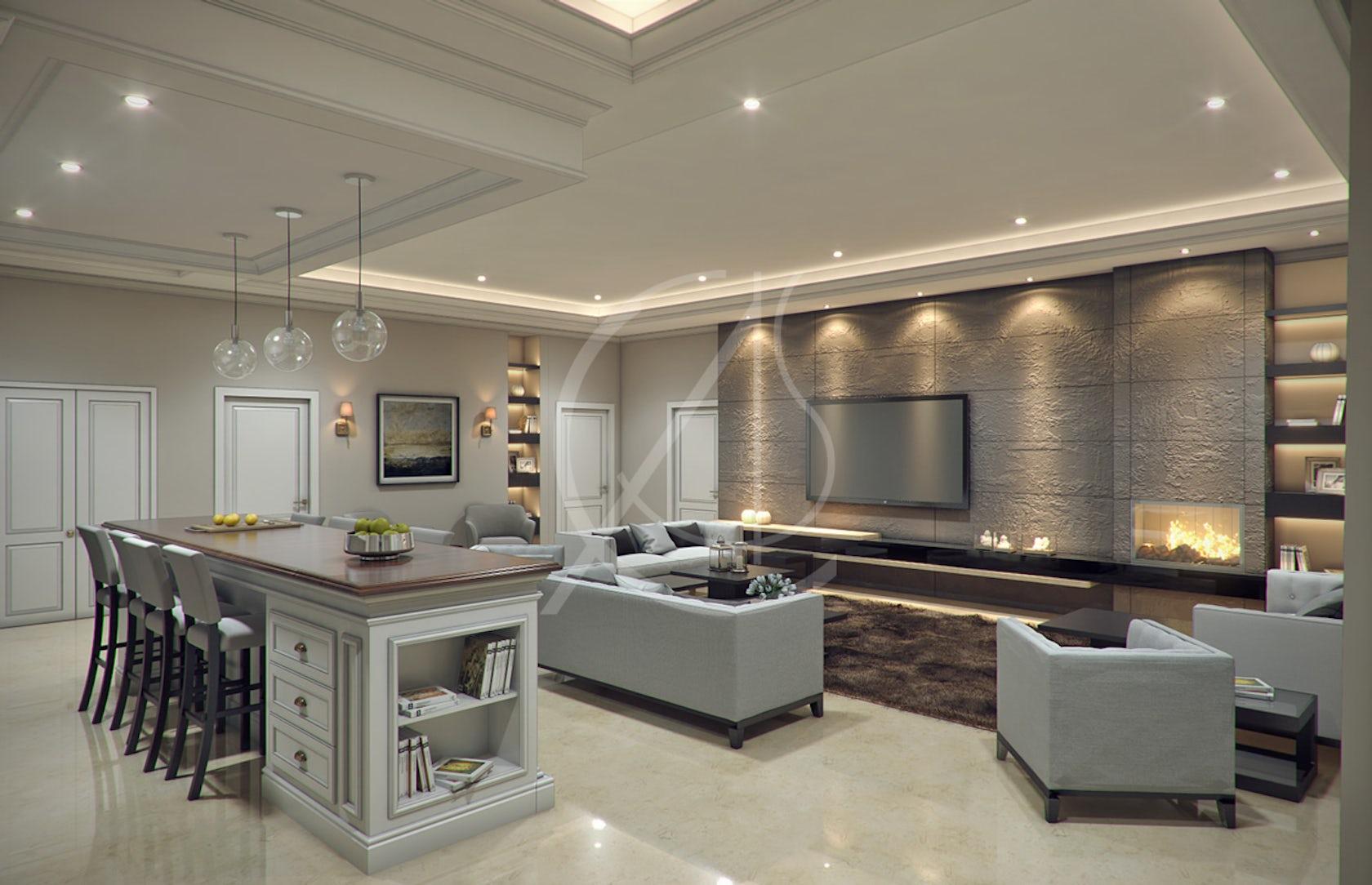 Modern Classic Villa Interior Design On Architizer