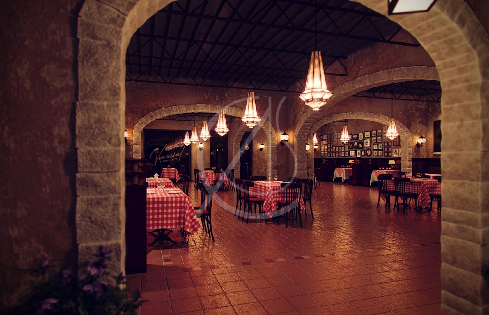 Venezia italian restaurant interior design architizer for Blog interior design italia