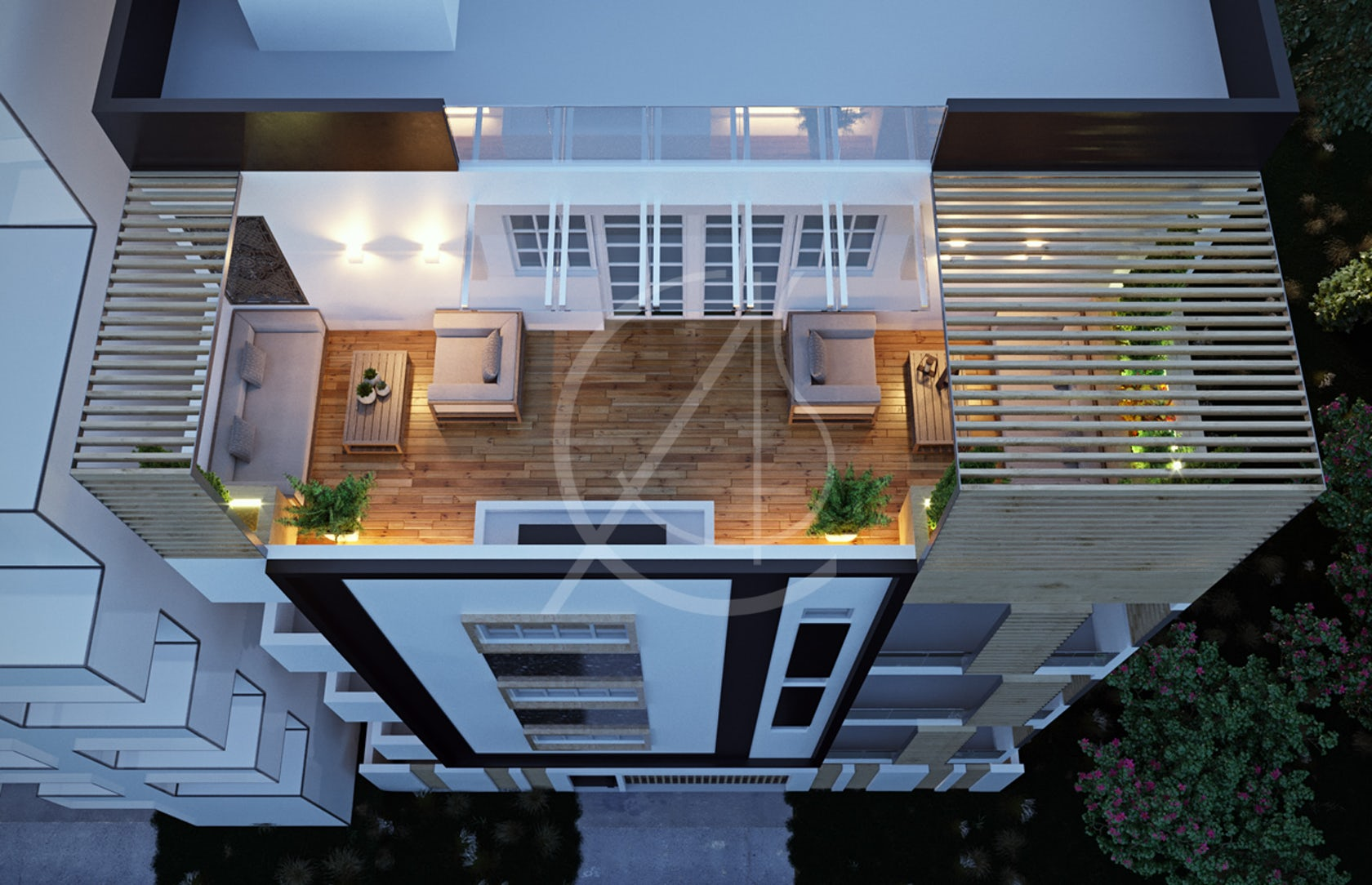 Modern Apartment Exterior Design - Architizer