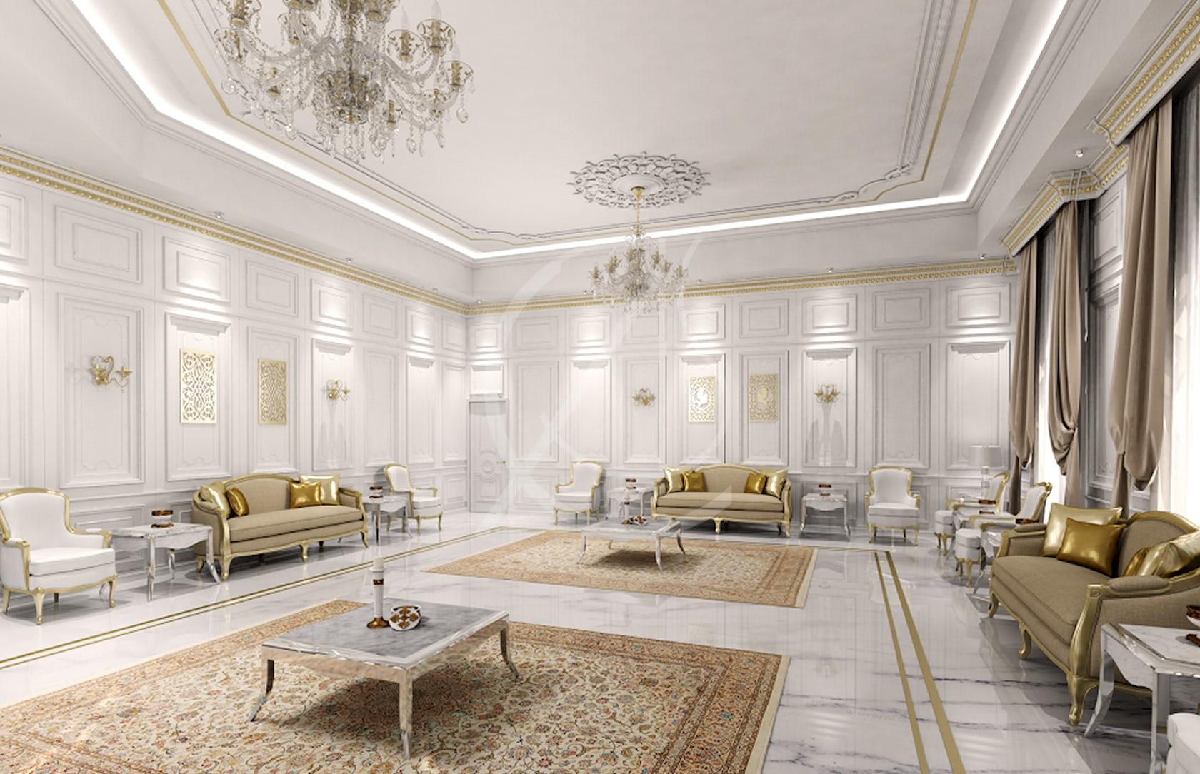 Classic Luxury Villa Interior Design By Comelite Architecture Structure And Interior Design Architizer