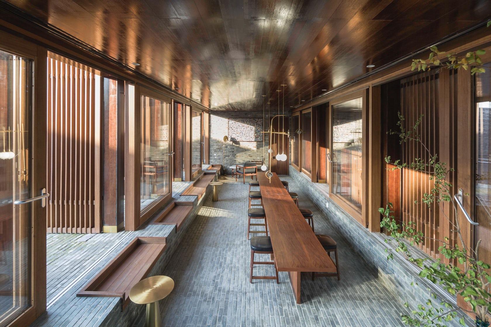 The Walled Tsingpu Yangzhou Retreat Architizer