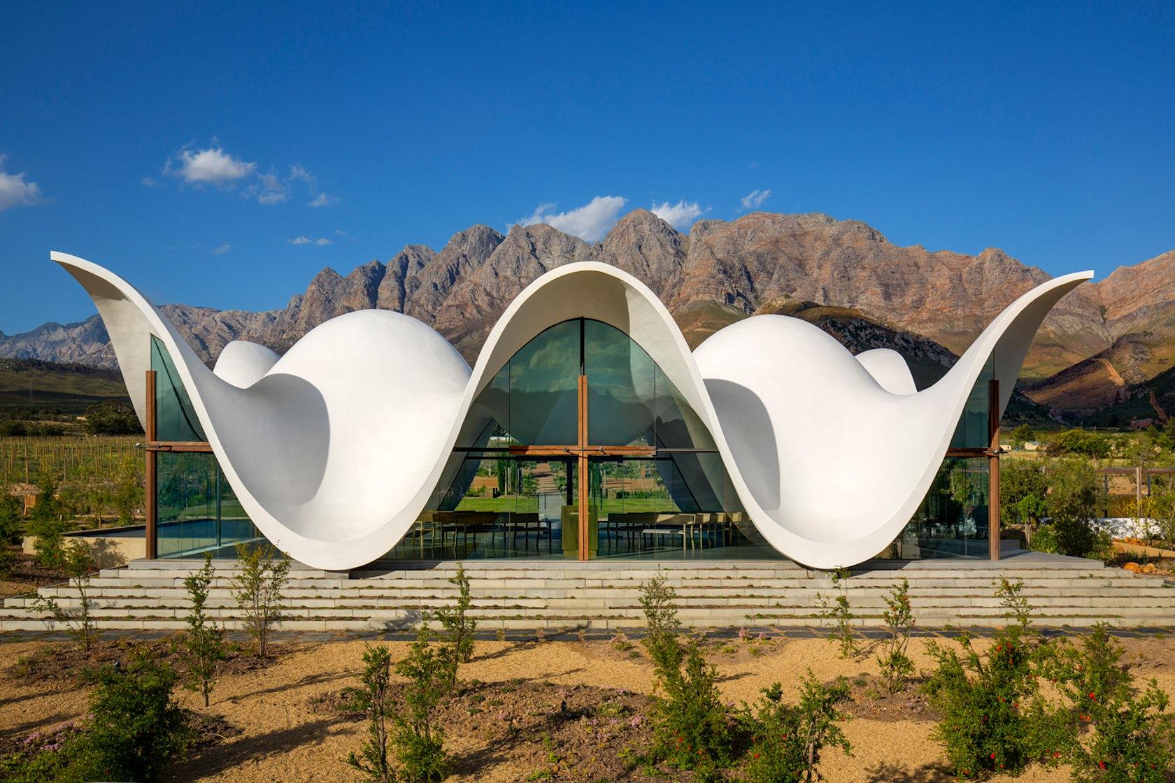 Grand Valley Auto >> Bosjes Chapel - Architizer
