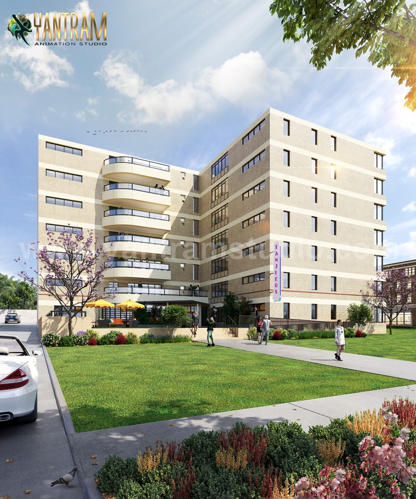 Modern Exterior & Interior Apartment Building design ideas ...
