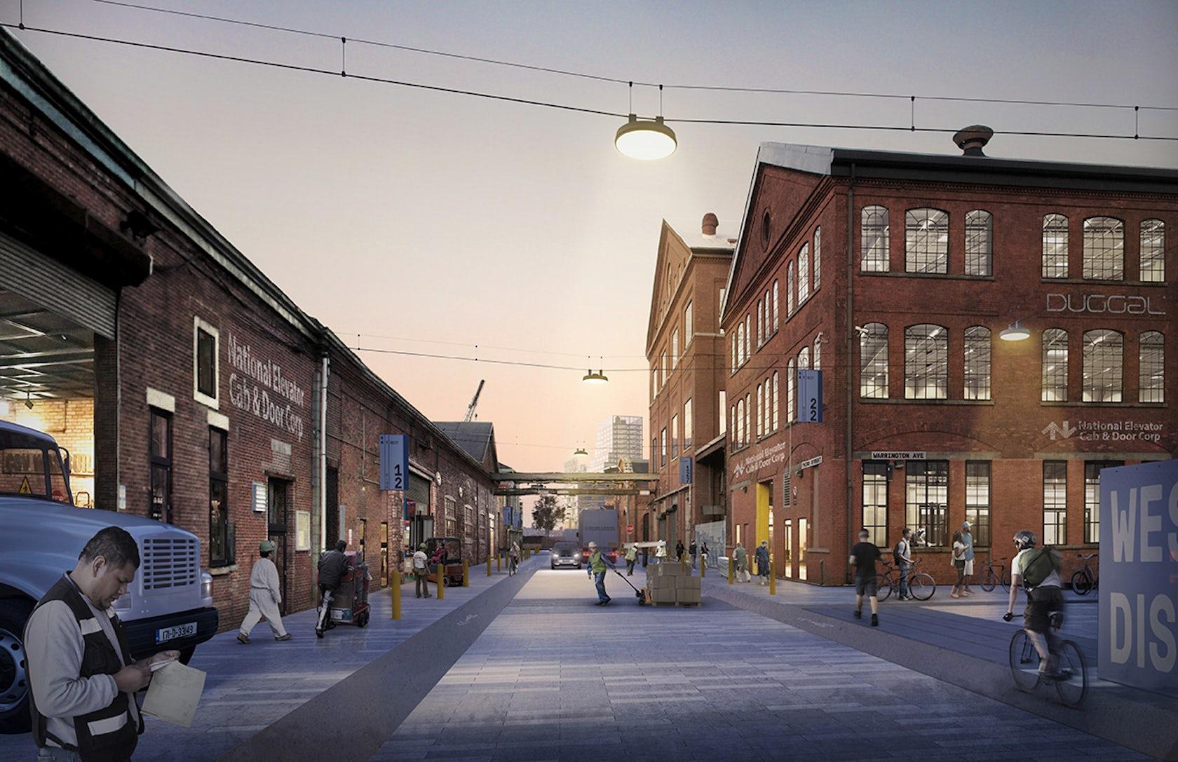 Urban Landscape Architecture Masterplan