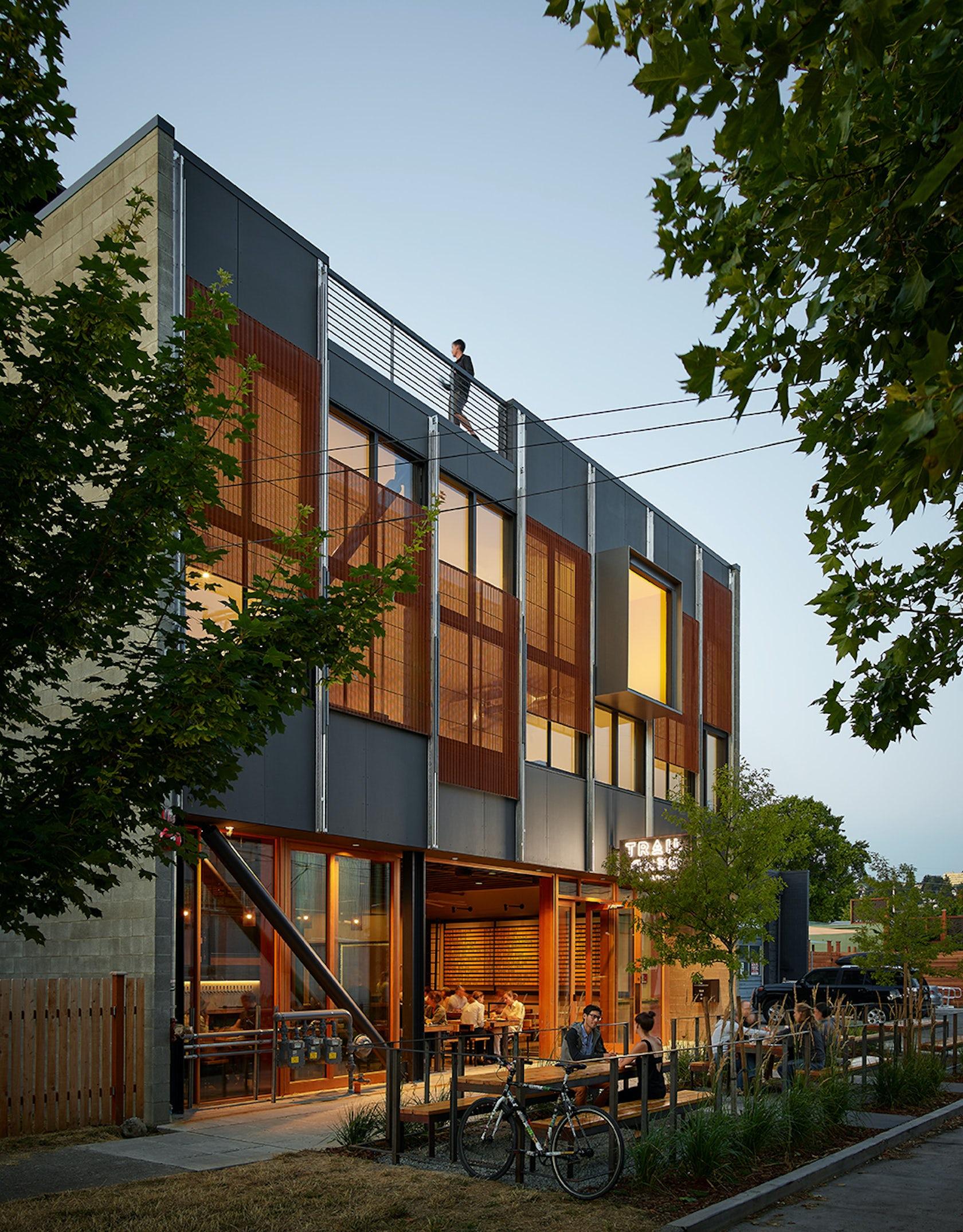 Klotski Building on Architizer