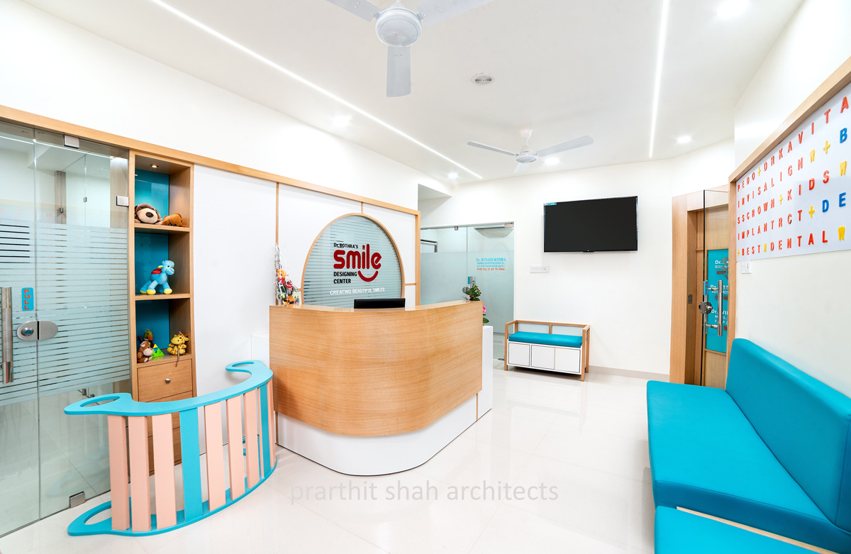 Idea 2788333 Smile Design Center Interiors By Prarthit Shah Architects In Jodhpur India Architizer