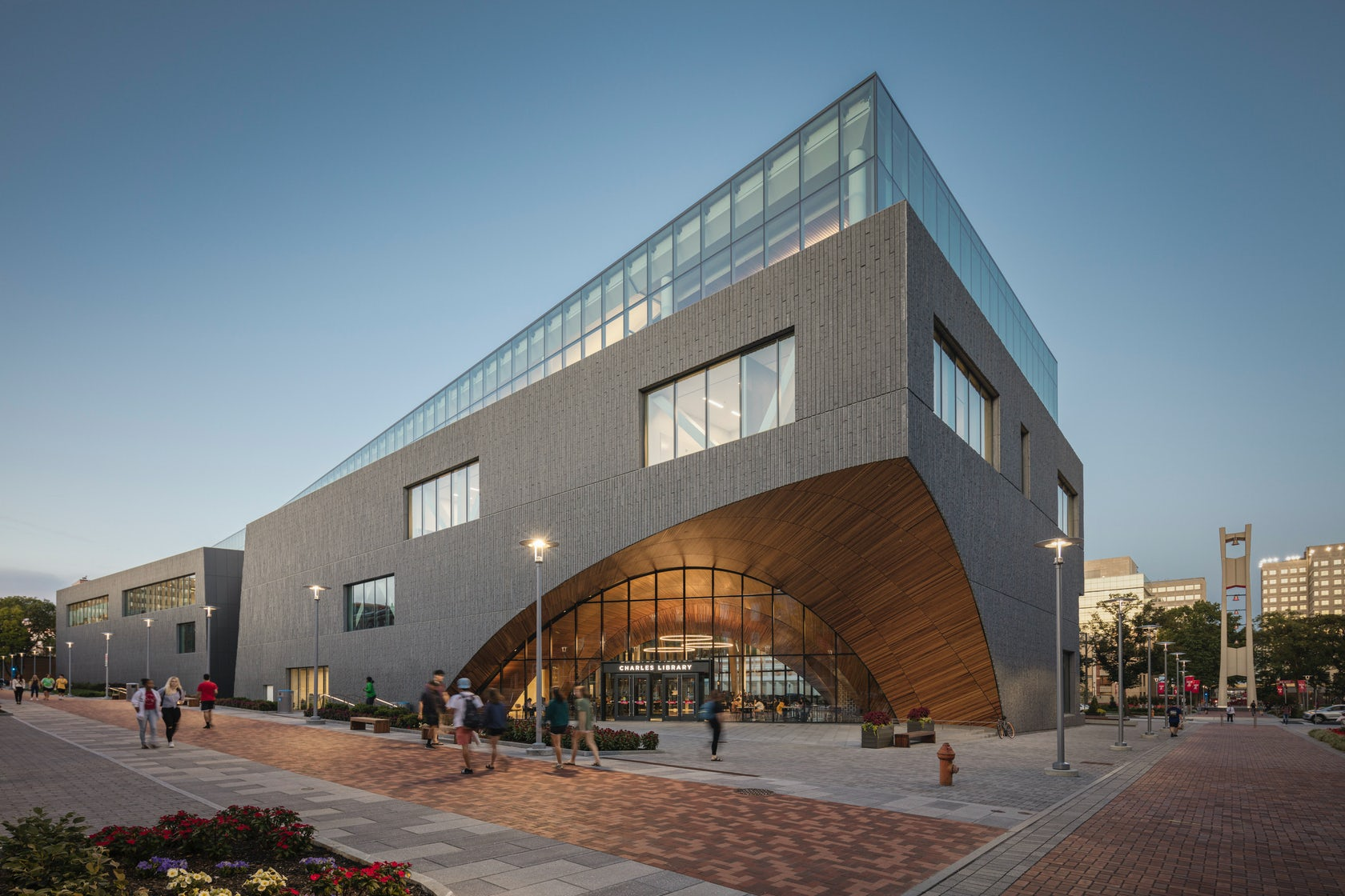 Charles Library at Temple University