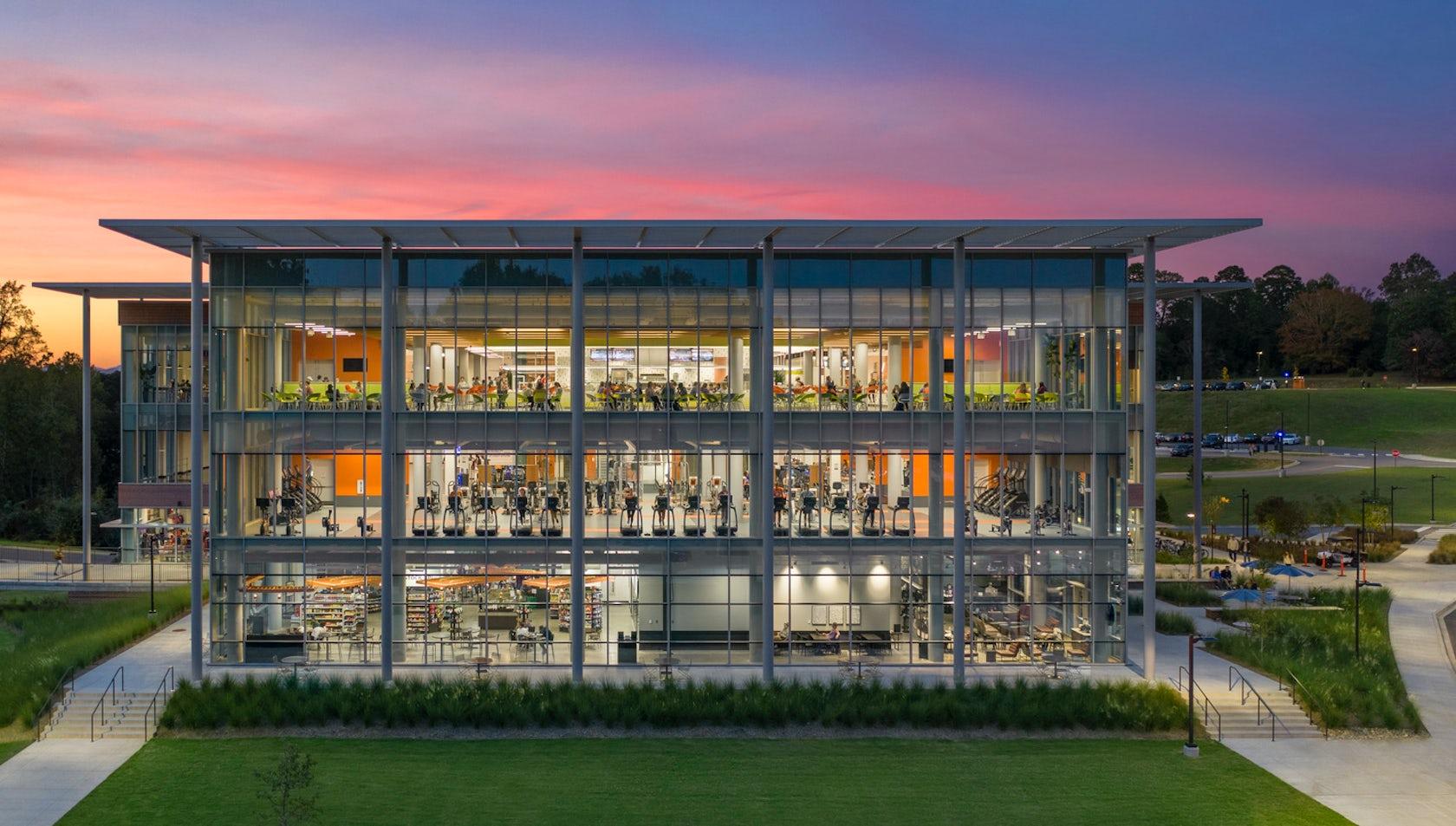 The Hub Clemson University By Ayers Saint Gross Architizer