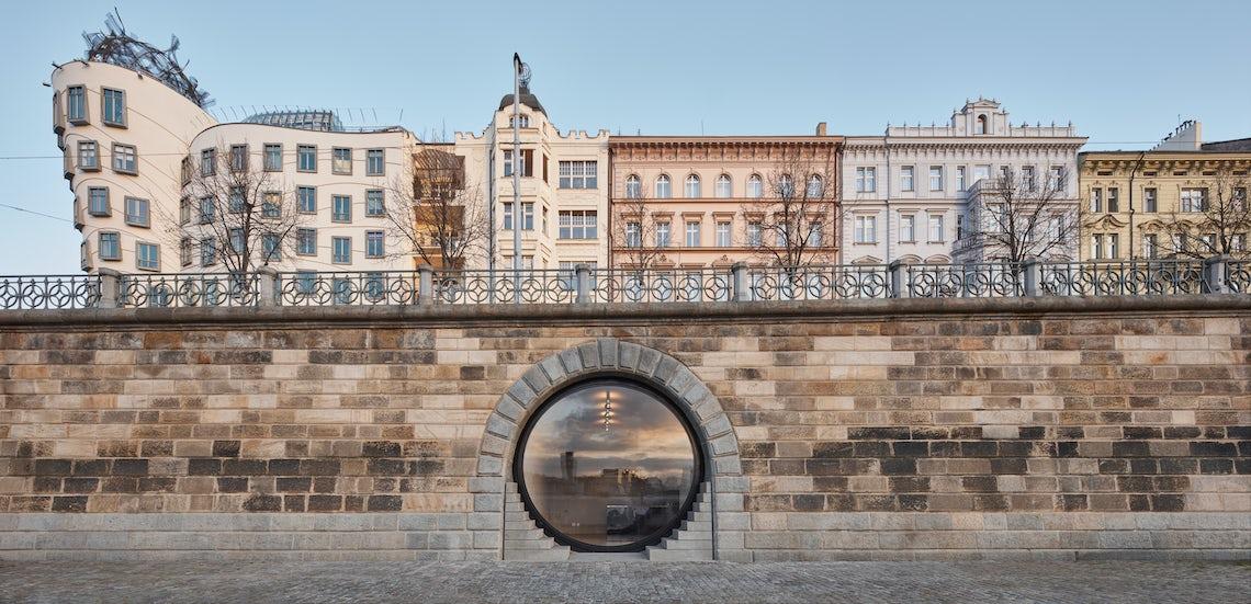 Revitalization of Prague riverfront area // petrjanda/brainwork