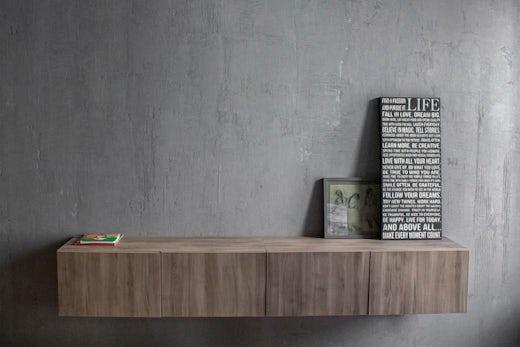 Concrete Apartment in NYC