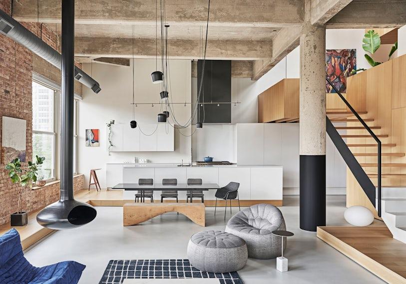 Michigan Loft // Vladimir Radutny Architects - Architizer Journal