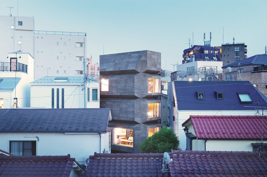 BAY WINDOW TOWER HOUSE // Takaaki Fuji + Yuko Fuji Architecture - Architizer Journal