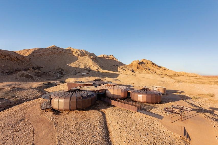 Buhais Geology Park Interpretive Centre // Hopkins Architects - Architizer Journal