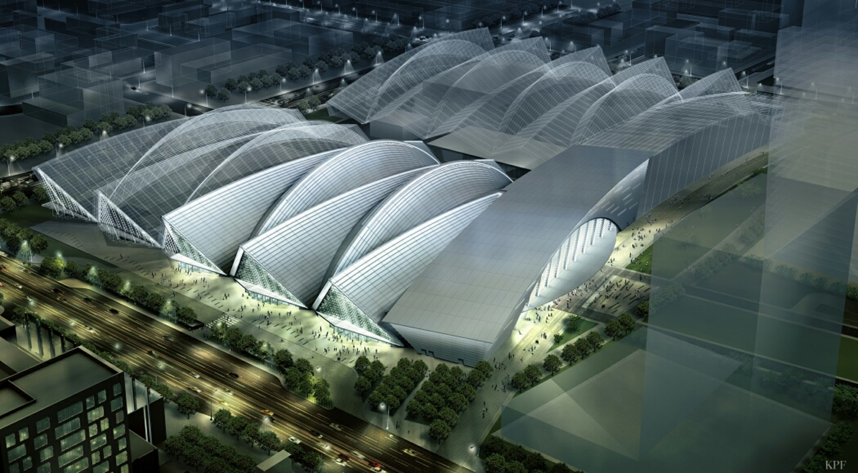 Songdo Convensia Convention Center Architizer