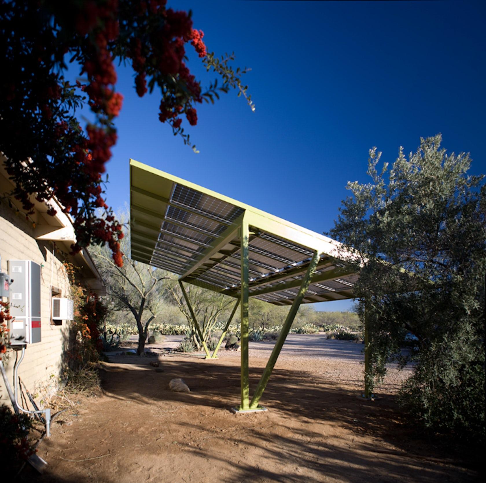 Solar Carport Architizer