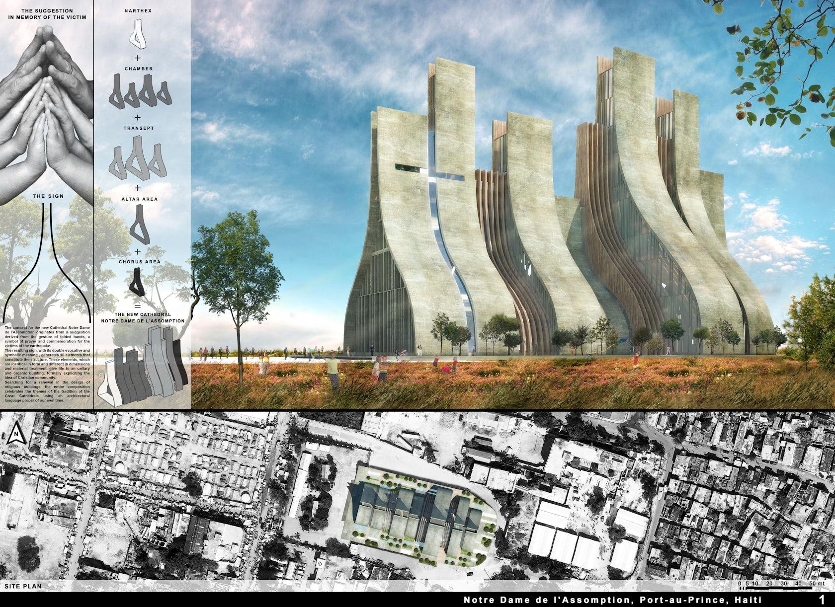 New Cathedral Notre Dame De L Assomption Haiti Architizer