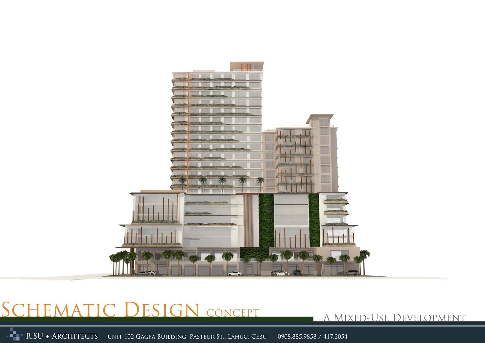 Cebu Mixed-Use Development on Architizer