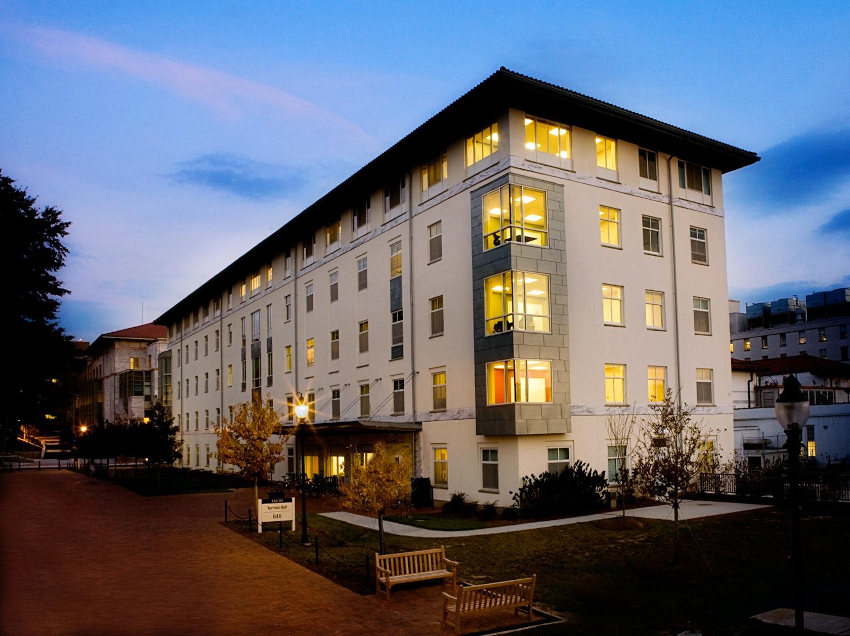 Duke School Of Nursing >> Emory University - Turman Residence Hall - Architizer