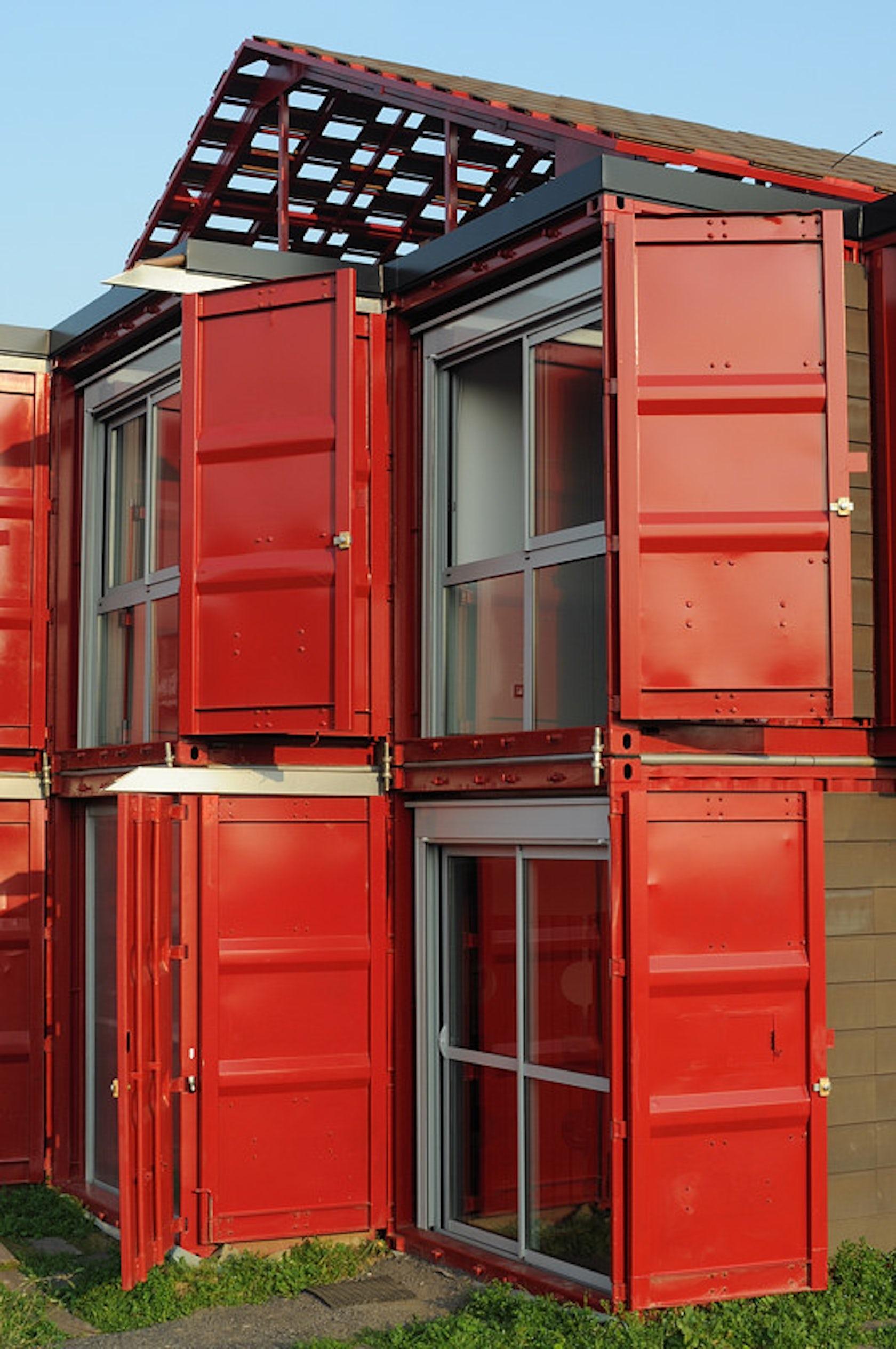 maison container lille architizer. Black Bedroom Furniture Sets. Home Design Ideas