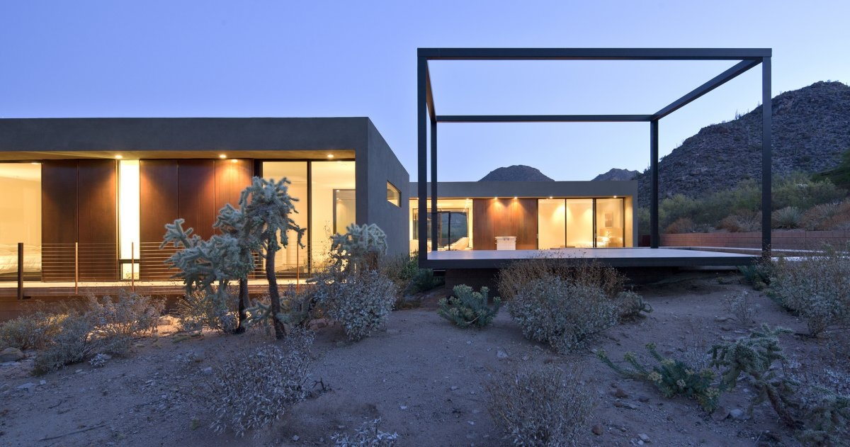 Attractive Desert House Residence By Circle West Architects, Paradise Valley, Arizona Pictures Gallery