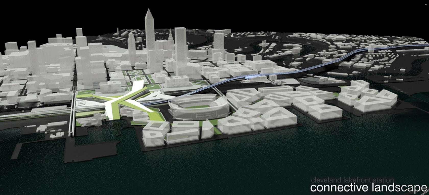 Cleveland Auto Mall >> Cleveland Design Competition. Project 2009: Lake Front station - Architizer