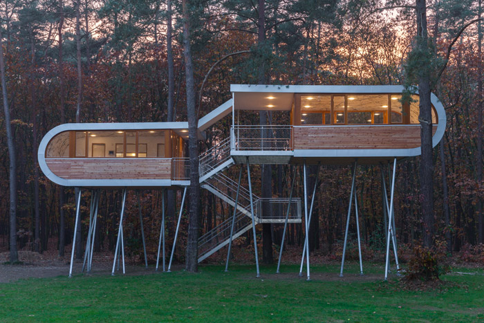 Rising Trends 7 Modern Cabins Raised on Stilts Architizer