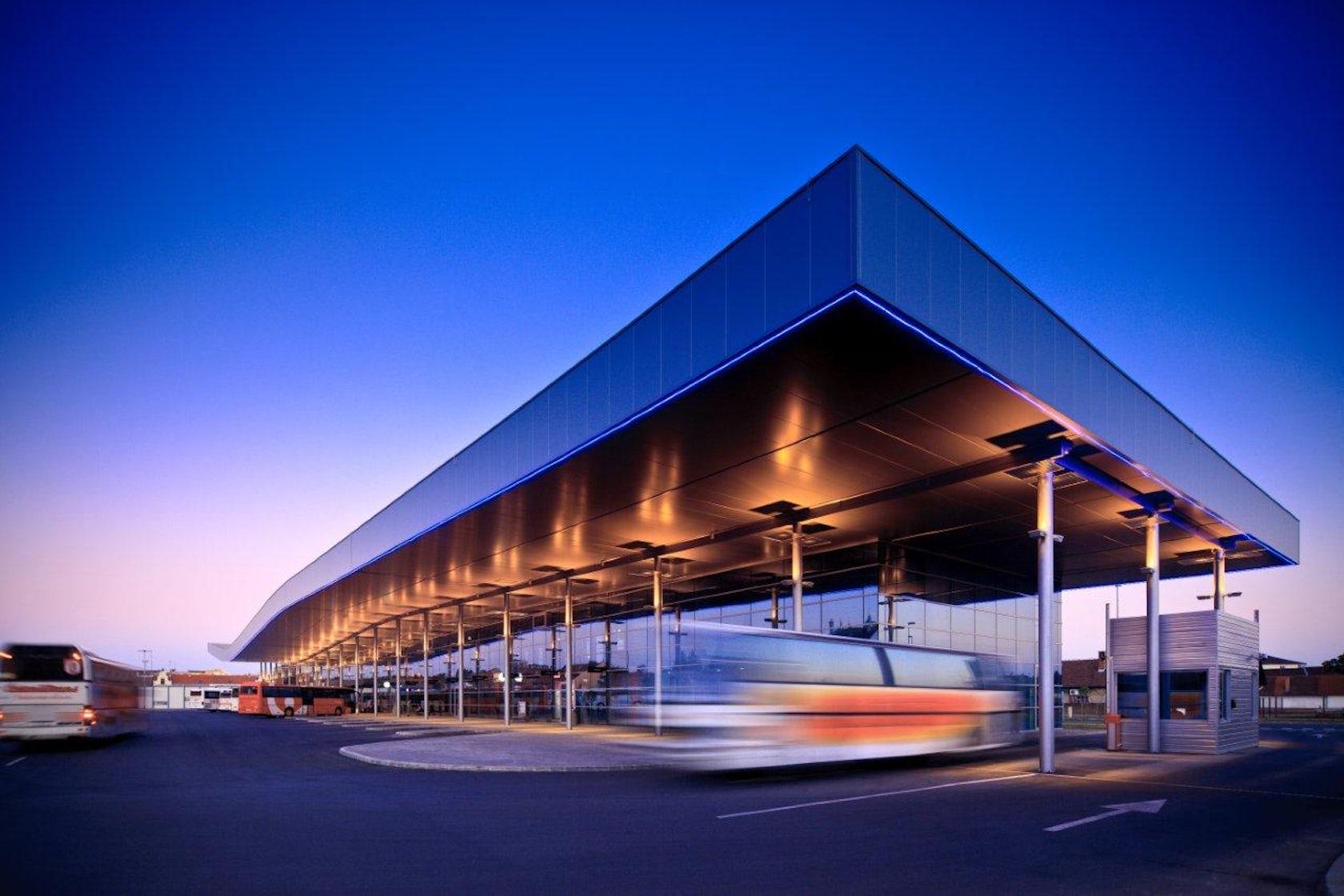 Bus Station Osijek On Architizer