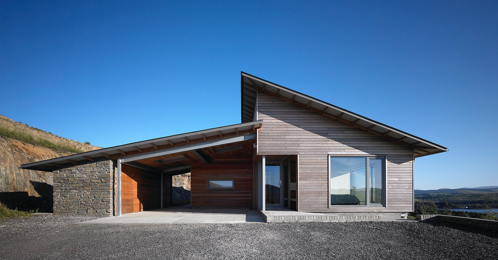 amblin' On: 10 ontemporary anch Homes - rchitizer - ^