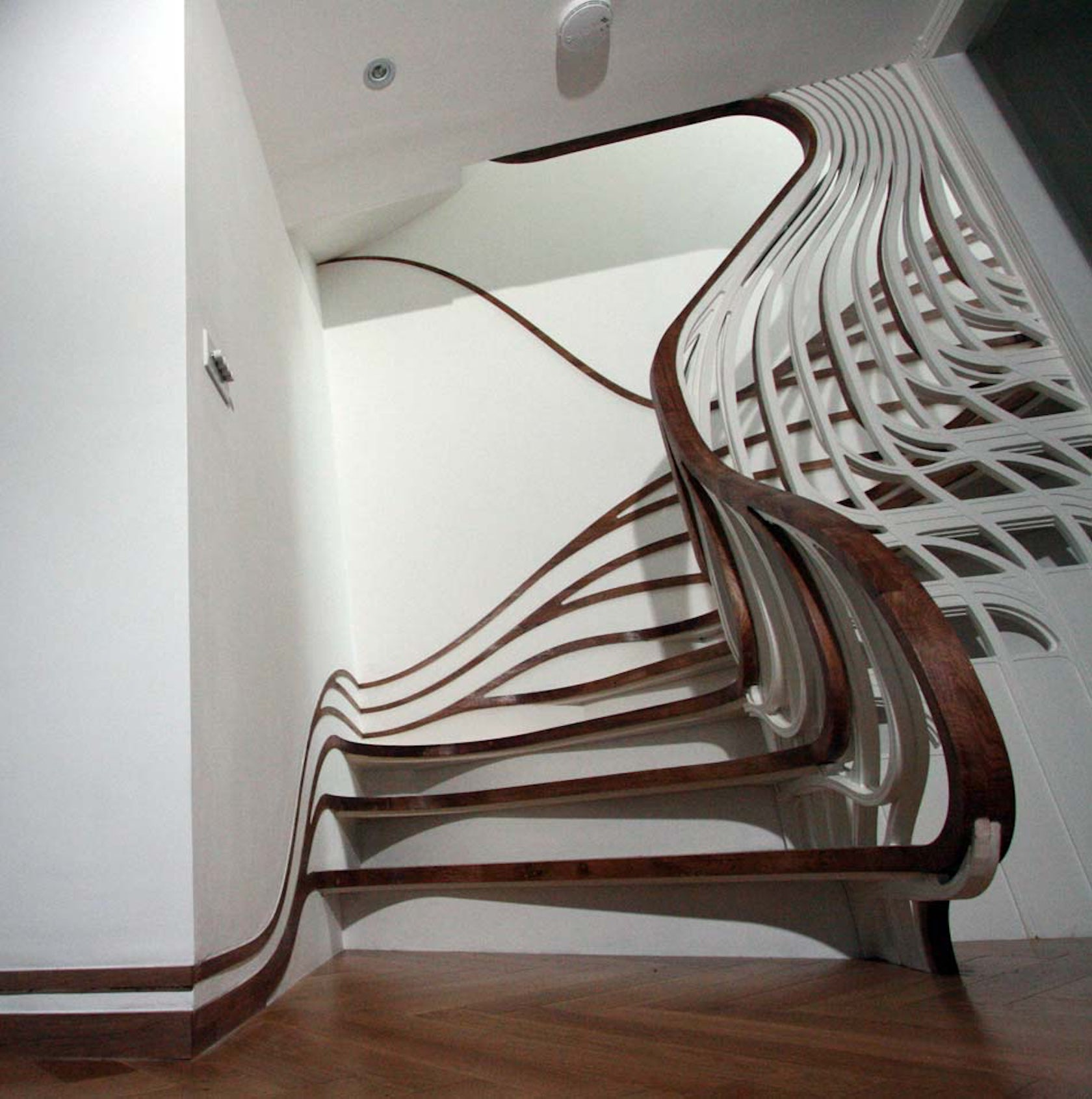 Unique And Creative Staircase Designs For Modern Homes: Sensualscaping (the Clapham House)