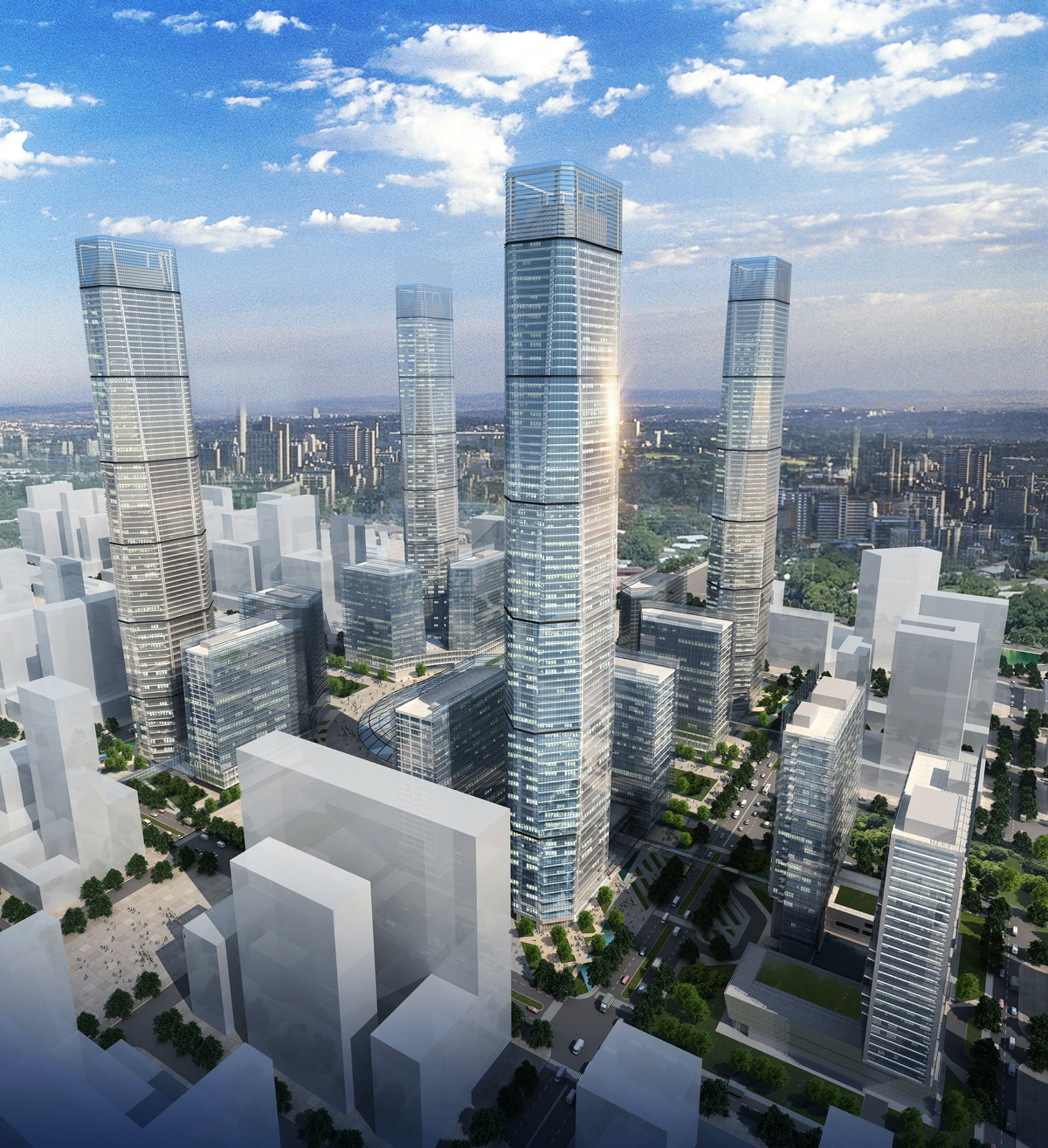 City Center: Changchun Southern New City Center