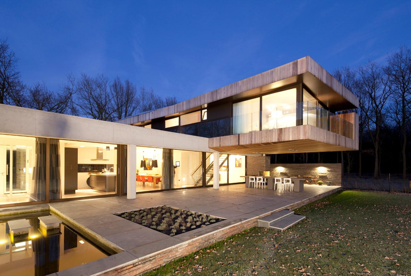Hilberink bosch architecten architizer for Design ville moderne