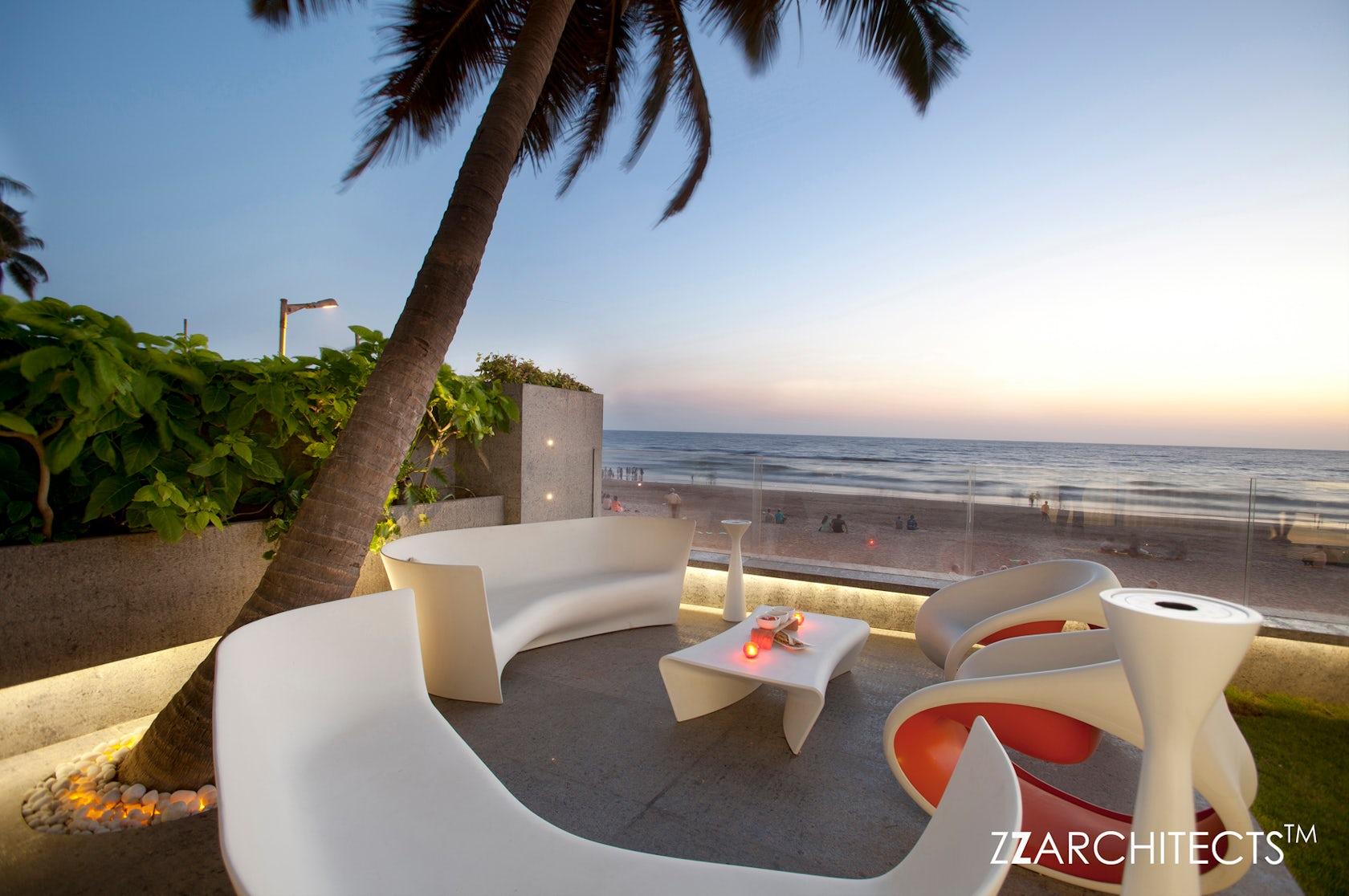Apartment By The Beach Juhu Mumbai Architizer