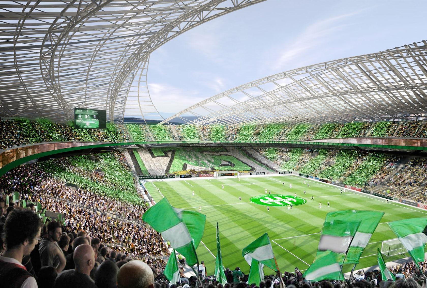 Saint Etienne Stadion