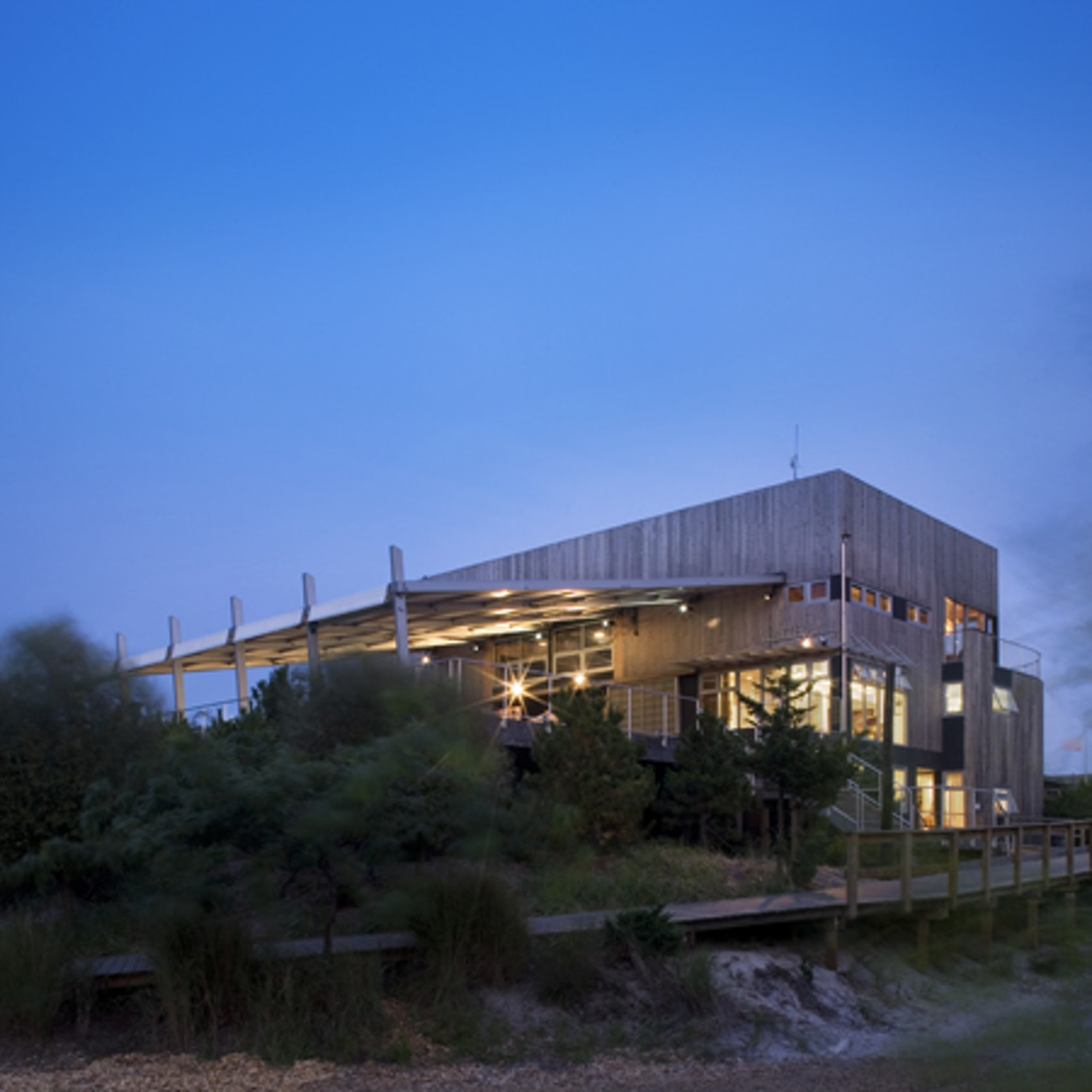Fire Island Ny: Fire Island Pines Community Center