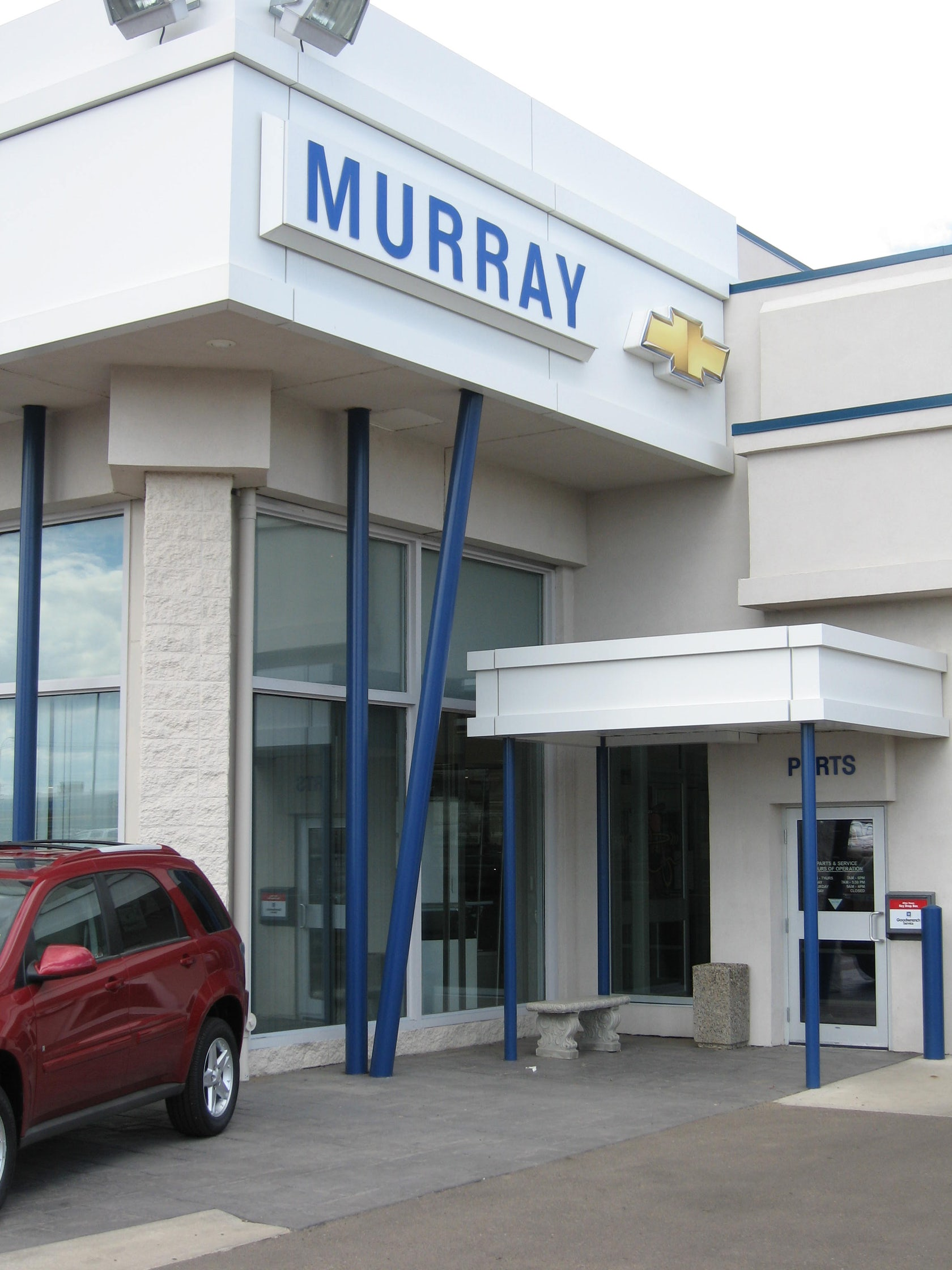 Murray Chevrolet & Cadillac Dealership Renovation - Architizer