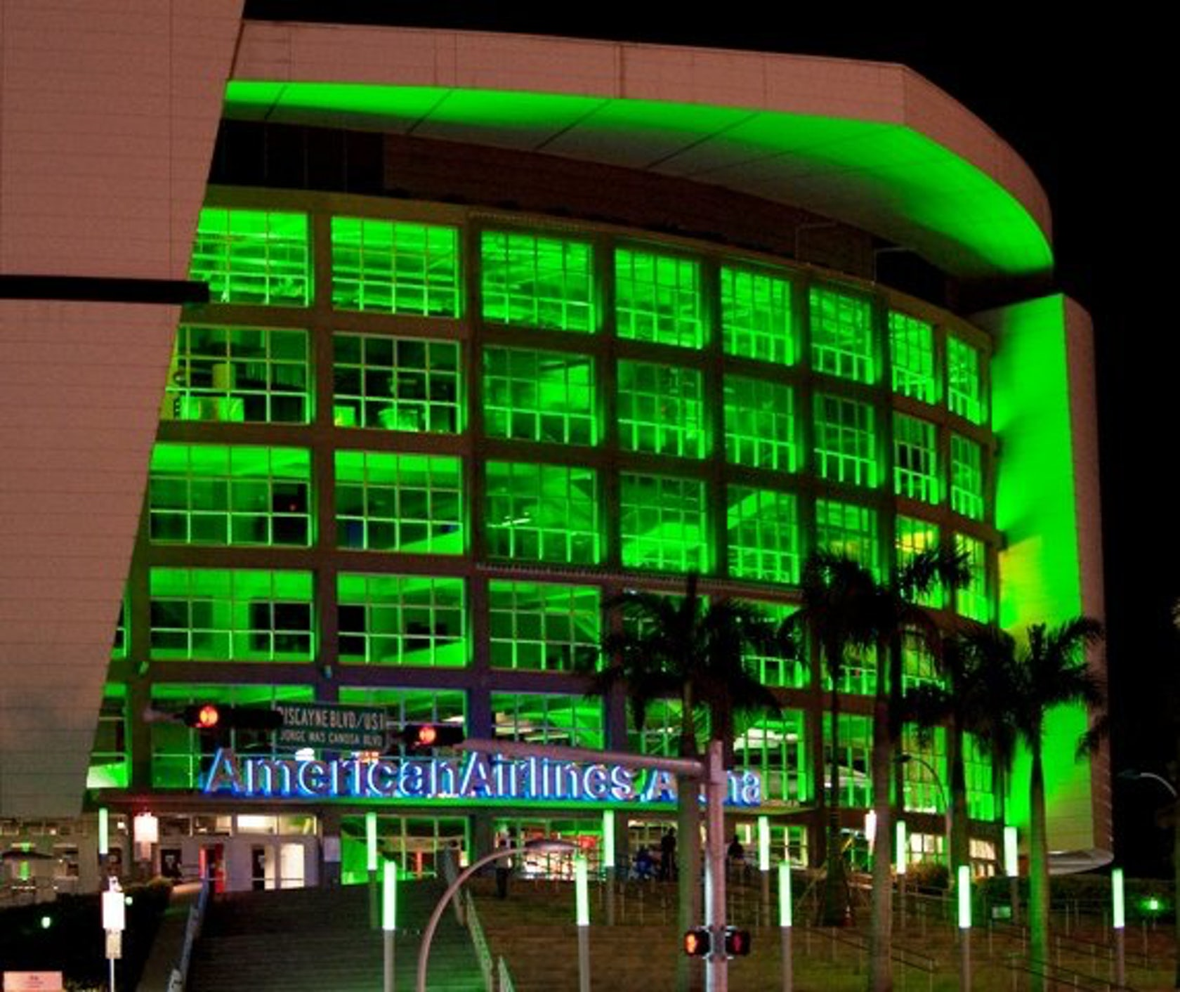 American Airlines Arena Architizer